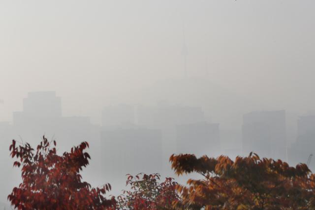 雾霾来临!