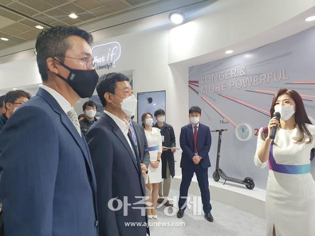 """지동섭 SK이노 배터리 대표 """"LG화학과 협력할 것 많아…소송 빠른해결 노력"""""""