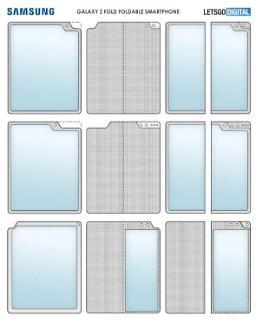 三星全新折叠屏手机外观专利曝光