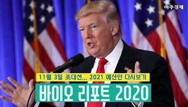 [바이오리포트2020(18)] 美 대선 D-12  트럼프 2021 예산안 복습하기 [카드뉴스]