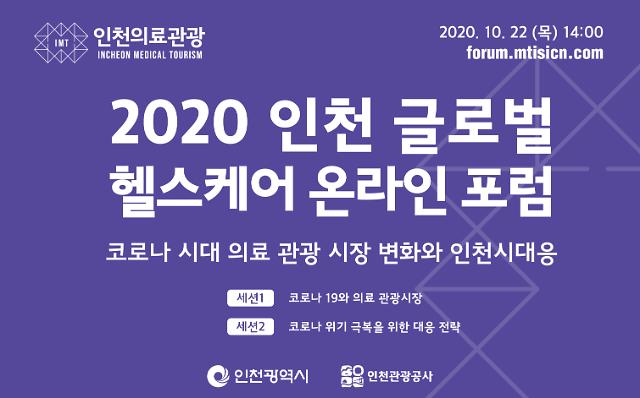인천시, 22일 2020 글로벌 헬스케어 포럼' 개최