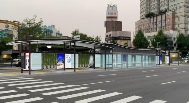 서울시, 미래형 버스정류소 스마트쉘터 민투사업 전환 추진