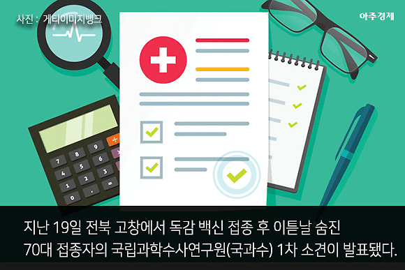 [슬라이드 뉴스] 사인 미상 국과수 1차 소견... 독감백신 접종 뒤 숨진 고창 70대