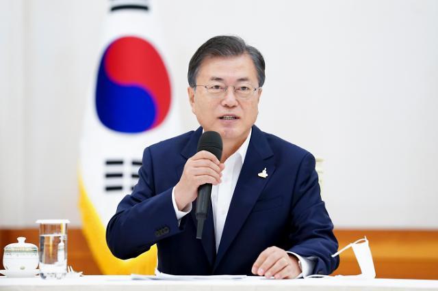 """文대통령, 한-라오스 재수교 25주년 축하...""""미래지향적 발전 기대"""""""