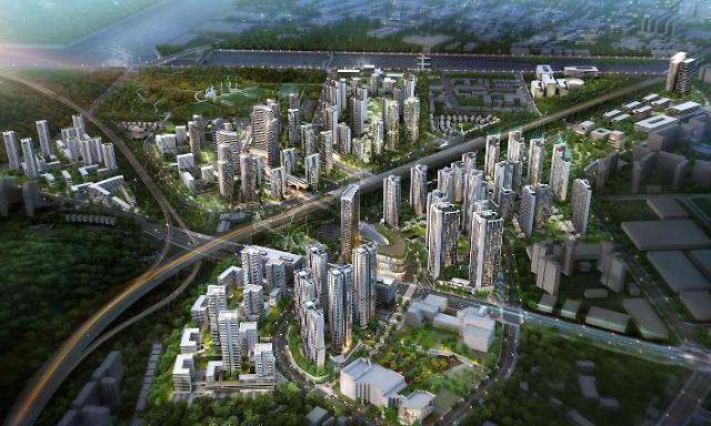 용현학익 1블록 도시개발사업 '시티오씨엘' 개발 본격화