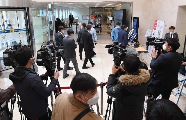 [포토] 이건희 회장 빈소 앞 대기하는 취재진