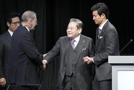 한국 스포츠 외교 발전에 기여한 이건희 회장