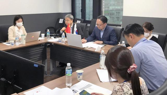 韩中自贸协定第九轮服务投资后续谈判今日启动
