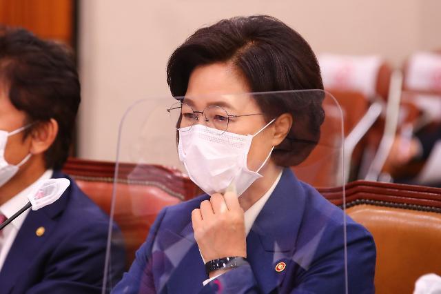 [포토] 종합국감 참석한 추미애 법무부 장관