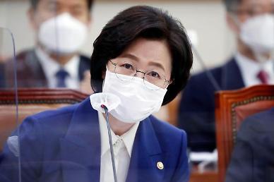 """[2020 국감]  추미애 """"남부지검 증권합수부, 부패의 온상... 폐지 불가피했다"""""""