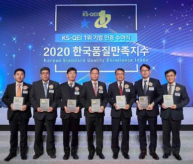 KCC∙KCC글라스, 한국품질만족지수(KS-QEI) 8개 부문 1위 수상
