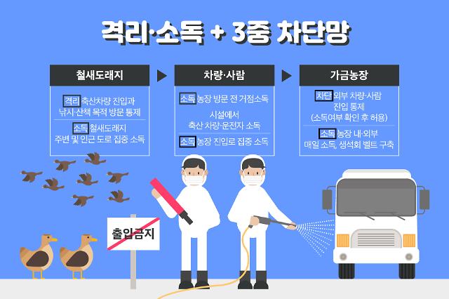 """천안 조류독감 발생, 닭·오리 값 오르나...정부 """"육계 수급 문제 없다"""""""