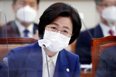 """[2020 국감] 추미애 """"지난해 중앙지검 옵티머스 무혐의 처분,  감찰 검토"""""""