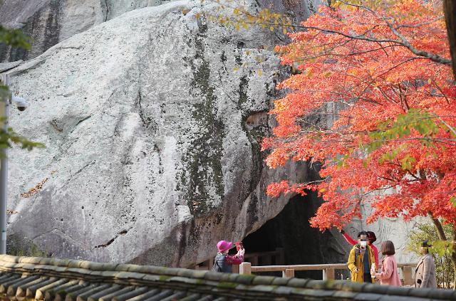 [포토] 속리산의 가을