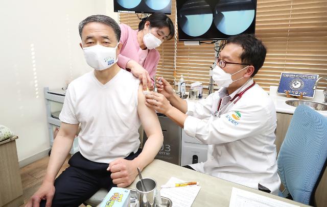 [포토] 박능후 장관 전문가 판단 믿고 독감 접종하세요