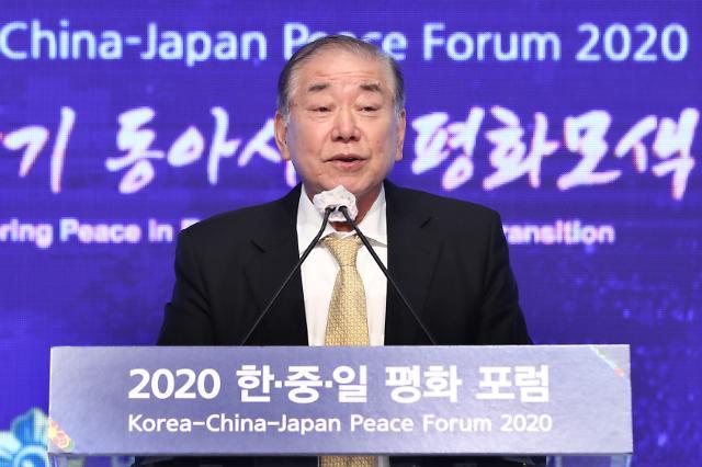 """문정인, 先종전선언·後비핵화 또 주장...""""좋은 결과 있을지 누가 아느냐"""""""