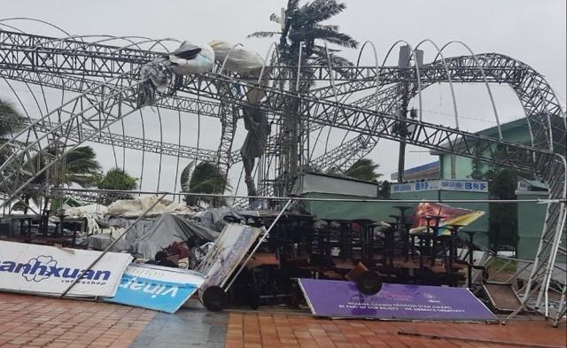 베트남 중부 연이은 홍수·태풍에 '몸살'