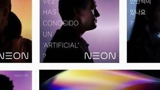Dự án NEON - con người nhân tạo của Samsung tiến hành hợp tác kinh doanh với các đối tác trong nước