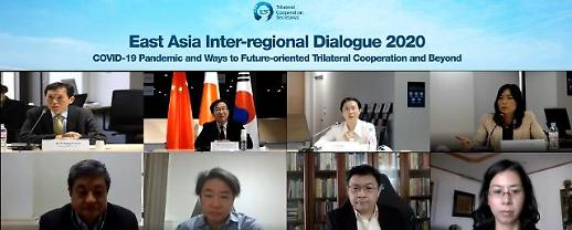 """""""新冠疫情背景下面向未来的中日韩及东亚合作展望""""在线对话会成功举办"""