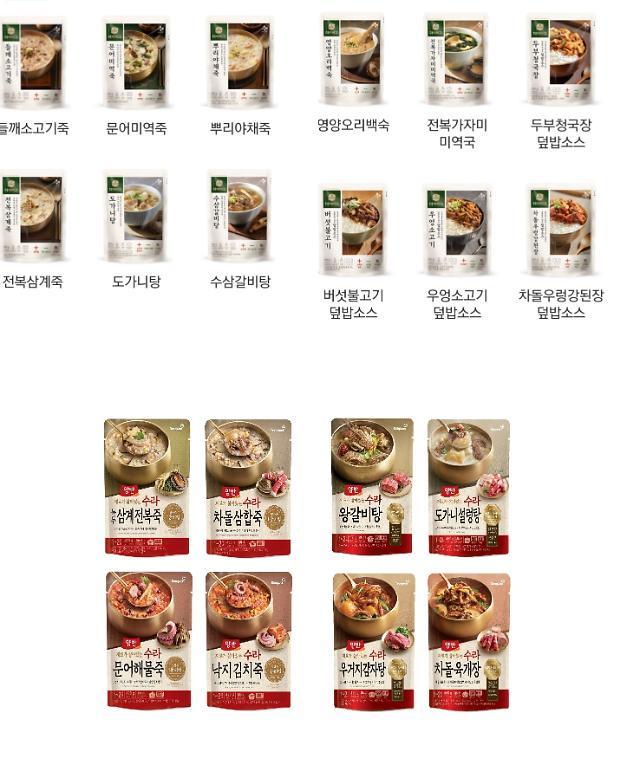 """[간편식 시대②] """"프리미엄으로 한판 붙자""""…CJ제일제당·동원F&B, HMR 대전 2라운드"""