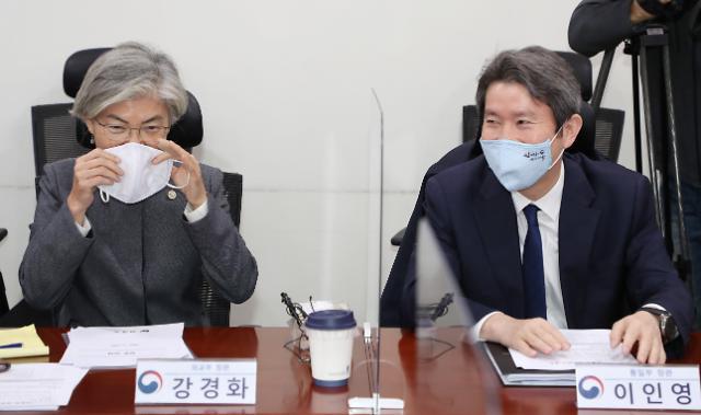 美 대선 대응 나선 강경화·이인영…외교·통일장관, 모두 美 방문하나