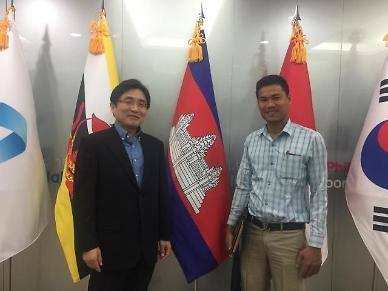 캄보디아 종합미디어통신사 기자의 한-캄보디아 양국 관계 취재