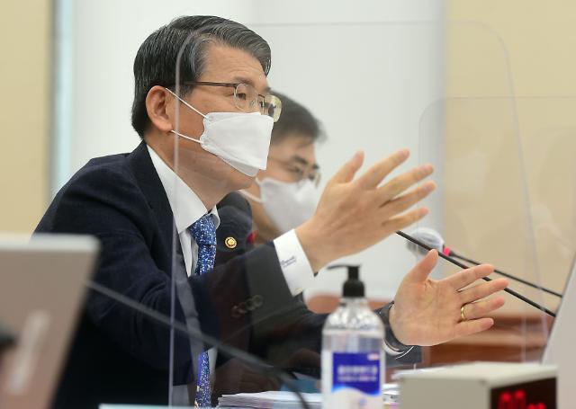 """은성수 금융위원장 """"뉴딜펀드 세금 투입, 민간참여 유도 취지"""""""