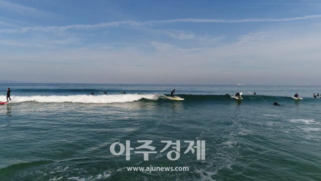 경북도·포항시, 포항 용한리 해변...서핑 명소로 육성