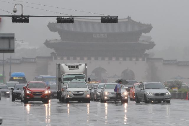 [내일날씨] 아침까지 곳곳에 비…낮 최고기온 22도