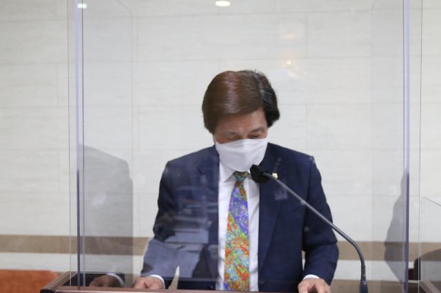 정길수 상주시의원 '의원연구단체구성 및 운영조례일부개정조례안' 대표발의
