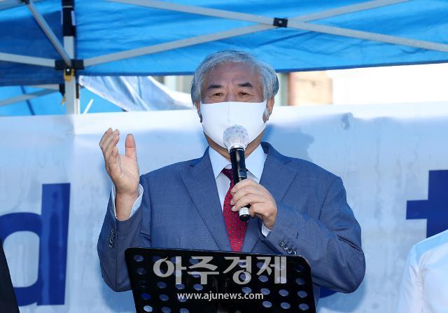 """전광훈 """"평화나무 김용민 공작으로 기소된 것"""""""