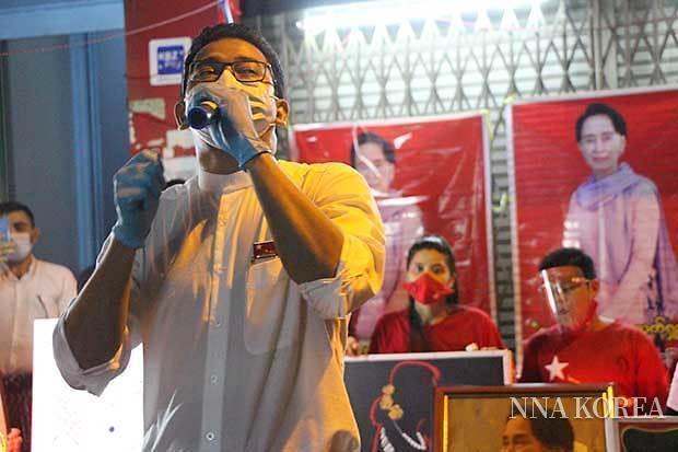 [NNA] 미얀마 8일 총선 앞두고 뜨거워진 선거전