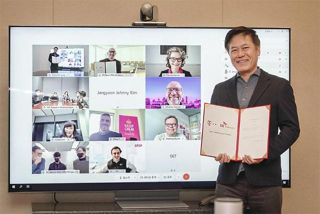 SK Telecom agrees with Deutsche Telekom to set up joint venture for 5G in-building solutions
