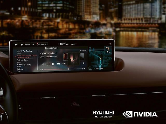 Motoring: Chipmaker NVIDIA signs in-car entertainment system deal with Hyundai Motor