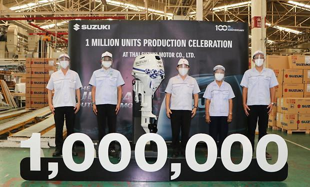 [NNA] 스즈키, 선외기 생산대수 100만대 달성