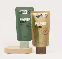 .​S. Korean cosmetics maker develops paper packaging for beauty products.