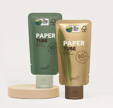 ​S. Korean cosmetics maker develops paper packaging for beauty products