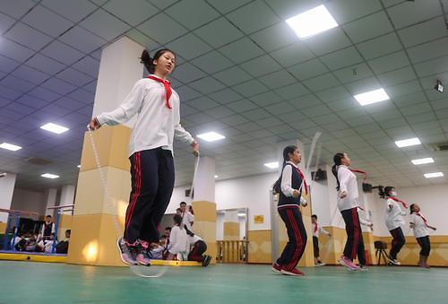 [특파원스페셜]중국 학부모는 왜 줄넘기에 목맬까
