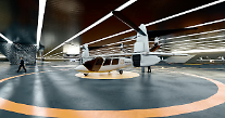ハンファシステム、エア・タクシー「バタフライ」模型の初公開…米国Overairと共同開発