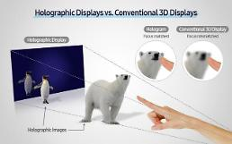 .Samsung researchers present new method for wider use of holograms.