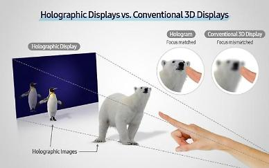 Samsung researchers present new method for wider use of holograms