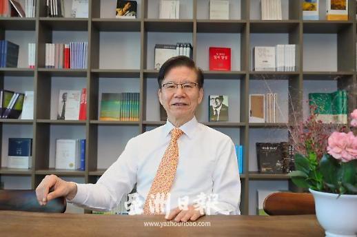 韩国外交部前东北亚合作大使丁相基:国之交在于民相亲 民相亲在于多沟通