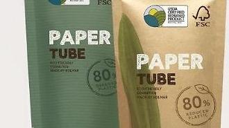 Nhà sản xuất mỹ phẩm Hàn Quốc phát triển bao bì giấy cho các sản phẩm làm đẹp
