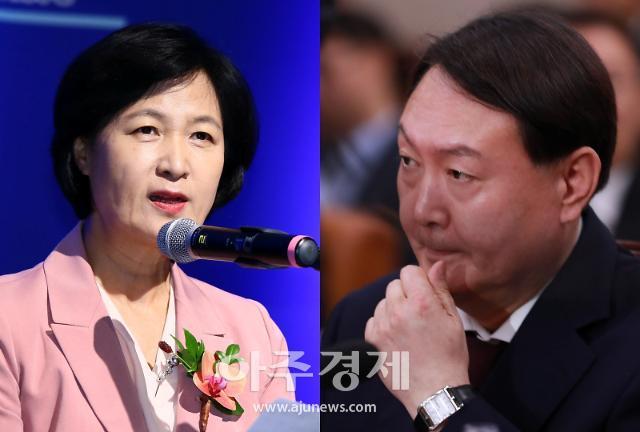 """추미애 """"윤석열, 특활비 자의적 집행 발견해 조사중"""""""