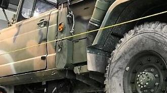 Công nghệ plasma trên xe quân sự được phát hiện có hiệu quả trong việc giảm ô nhiễm