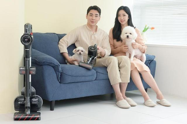 LG releases vacuum cleaner targeting households with pets