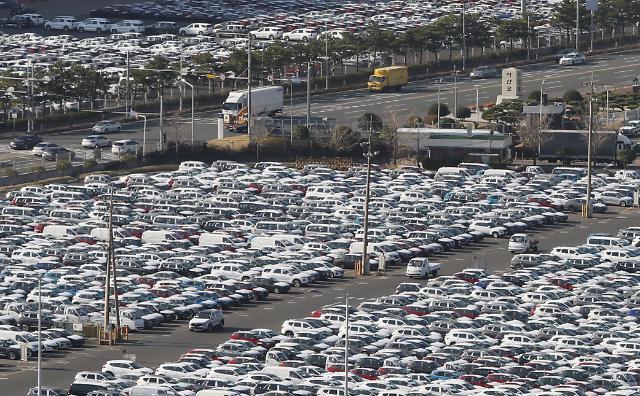 10월 자동차 수출·생산 다시 마이너스…조업일수 감소 영향