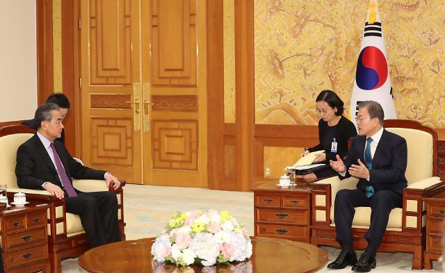 중국 왕이 내주 방한 조율 중…시진핑, 연내 韓 방문하나