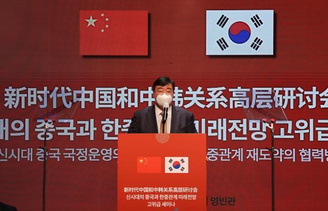 """싱하이밍 """"시진핑, 코로나 안정되면 韓 가장 먼저 방문"""""""