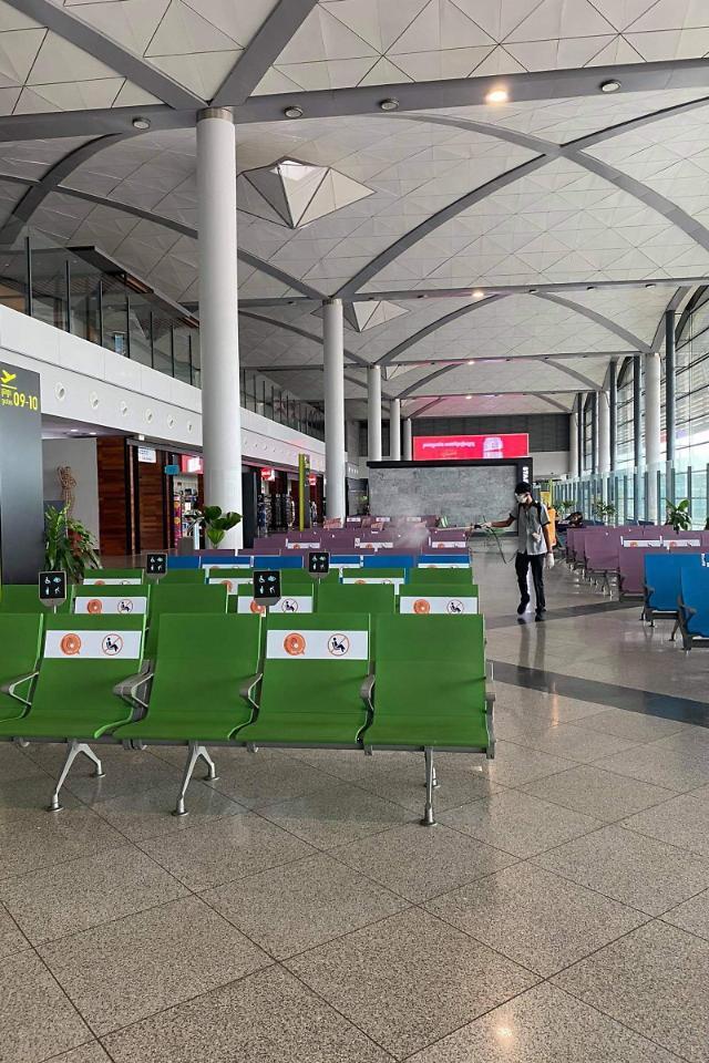 [NNA] 캄보디아 주요 3개 공항, 1~10월 이용자 80% 감소